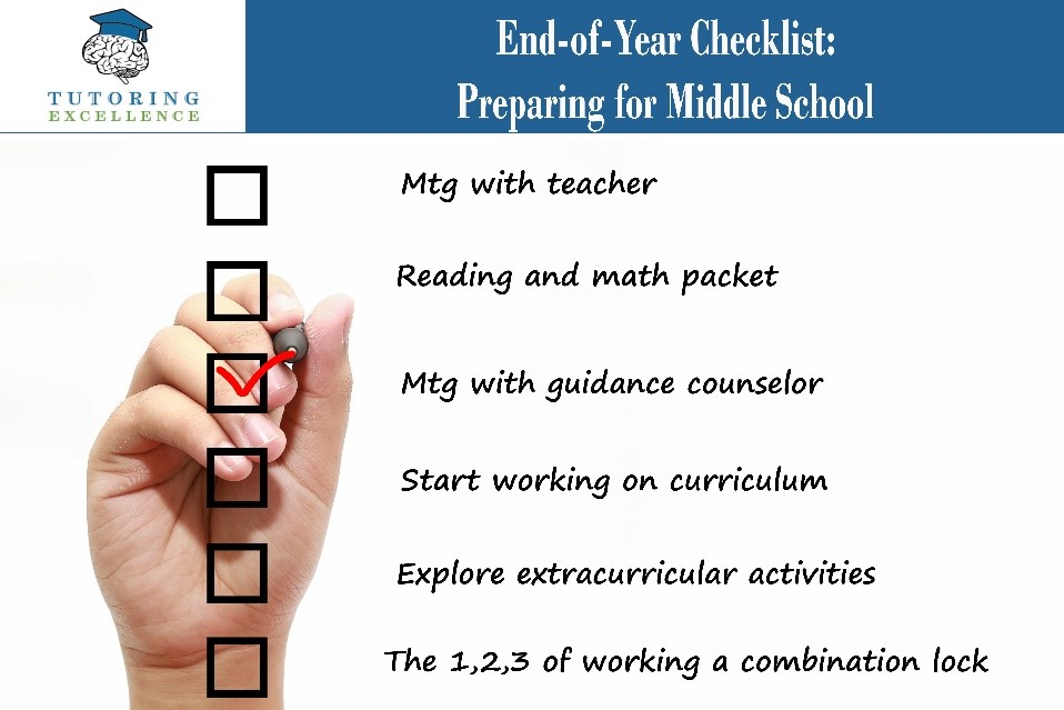 End-of-Year Checklist: Preparing for Middle School
